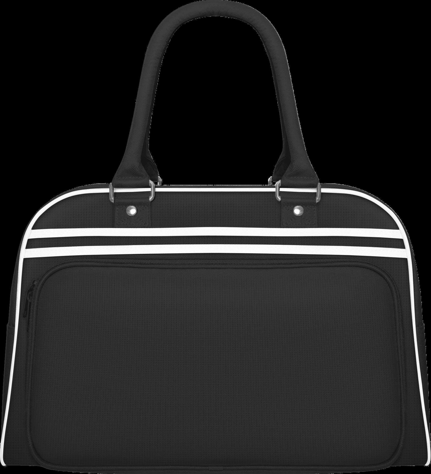 Retro bowlingová taška